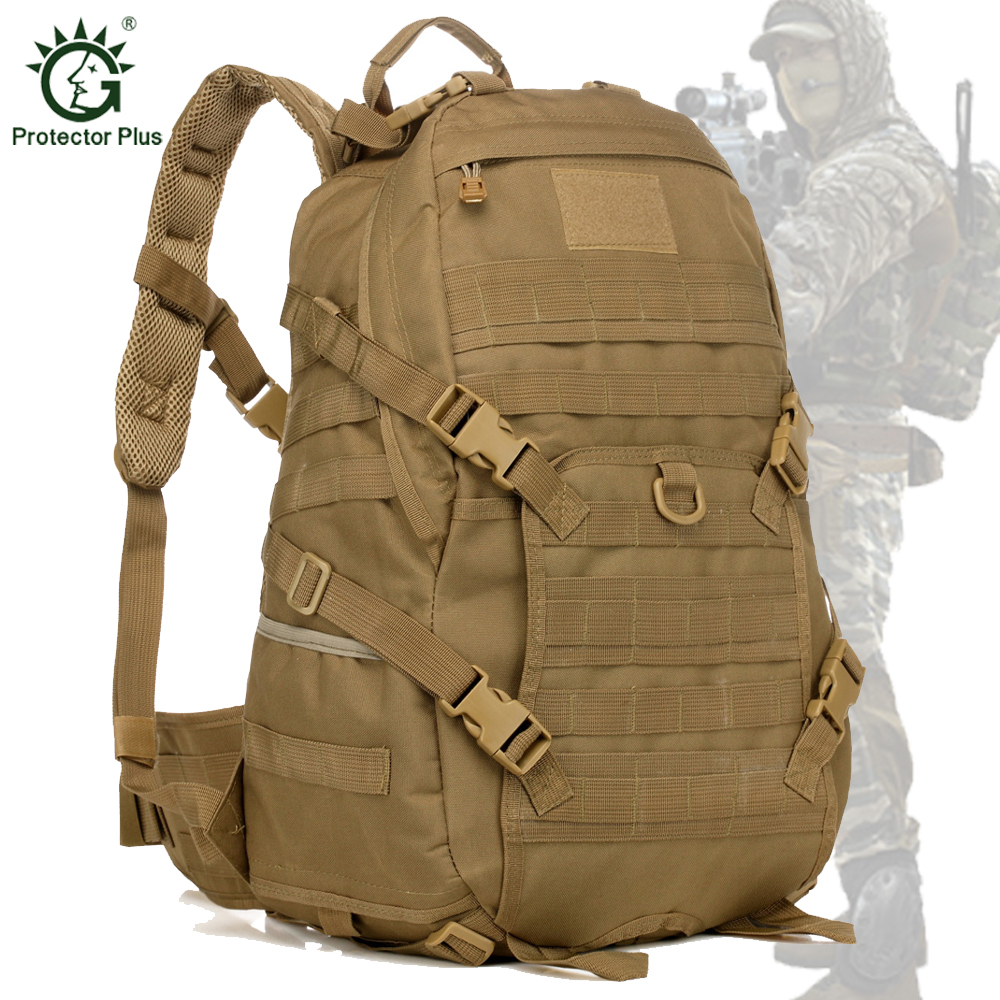 35L Military Tactical TAD Attack Backpacks Waterproof Molle Backpack Soldier Rucksack Bag for Camping Hiking Trekking