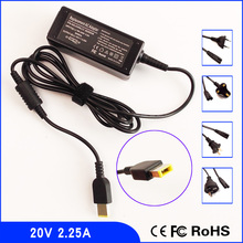20V 2.25A Laptop Ac Adapter Charger for Lenovo Thinkpad ADLX45NLC2A ADLX45NDC3 PA-1450-12 ADLX45NDC2A