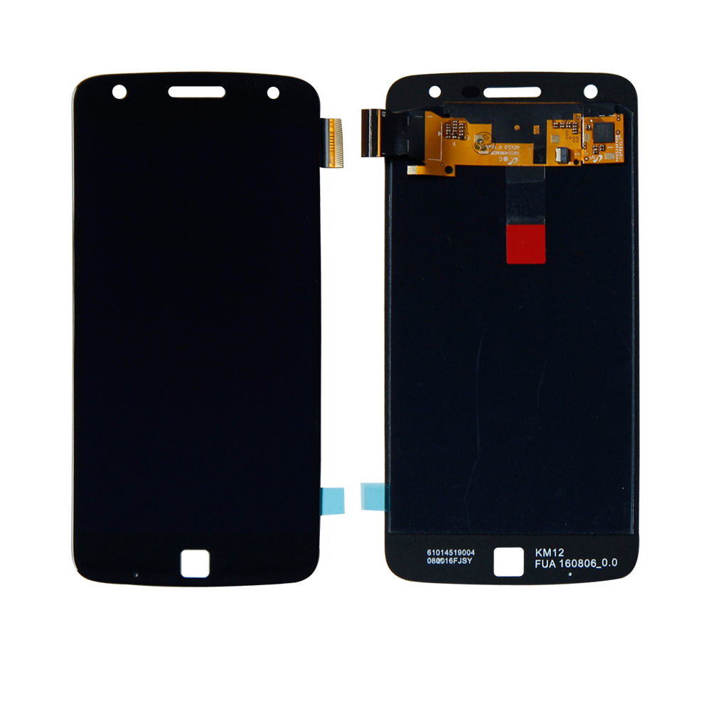 For Motorola Moto Z Play Droid <font><b>XT1635</b></font> <font><b>XT1635</b></font>-01 02 LCD Display Touch Screen Digitizer Panel Assembly Replacement Free Shipping image