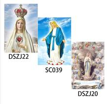 New Arrivals 5D DIY Diamond Painting Muslim,Religion,Holy Mother Mary, Fatima Church,Diamond Embroidered Cross Stitch