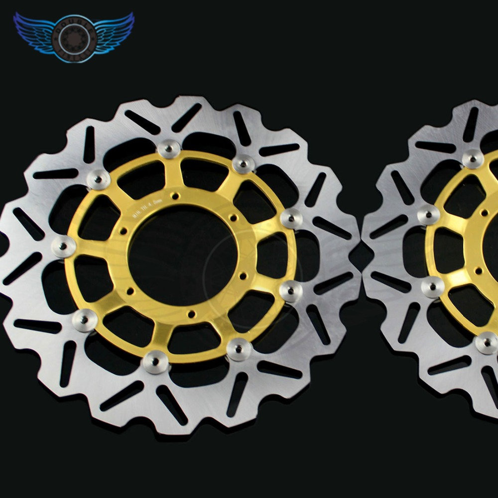 motorcycle Accessories Front Brake Disc Rotor for Honda CBR600RR 2003 2004 2005 2006 2007 2008 2009 2010 2011 2012 2013 2014 free shipping motorcycle brake disc rotor fit for yamaha mt03 660 2006 2011