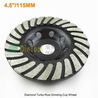 1pc 115mmDiamond Turbo Row Grinding Cup Wheel For Concrete Masonry And Some Other Construction Mater 4