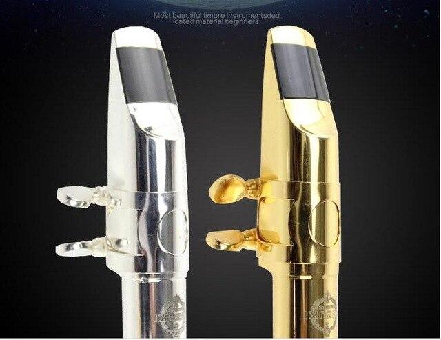 Embout saxophone Alto/aigus/ténor or embout en métal argenté doré expédition