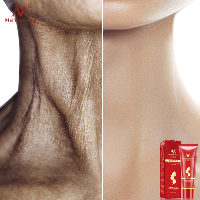 Shea-Butter-Extract Neck-Cream Reduce Fine-Lines Moisturizing Double-Chin Hydrating Nourish