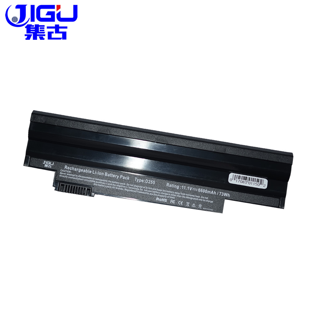 JIGU High Quality New 9 Cells Laptop <font><b>Battery</b></font> For <font><b>Acer</b></font> <font><b>Aspire</b></font> <font><b>One</b></font> D255 D260 522 <font><b>722</b></font> AO722 AL10A31 AL10G31 Black image