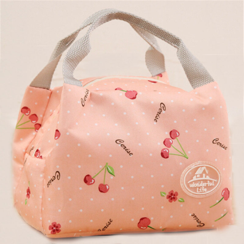 2019 Portable Insulated Oxford Cloth Lunch Bag Food Picnic Lunch Bags For Women Kids Men Lunch Box Bag Waterproof Storage Bag