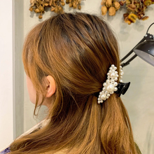 CHIMERA Pearl Hair Claws Crab for Women Girls Elegant Hairpin Clips Simple Stylish Acrylic Barrettes Fashion Ornaments