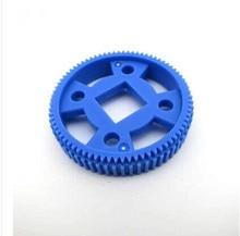 64T square hole gear M0.5 thick porous model transformation model DIY crawler wheel robot toy accessories big wheel