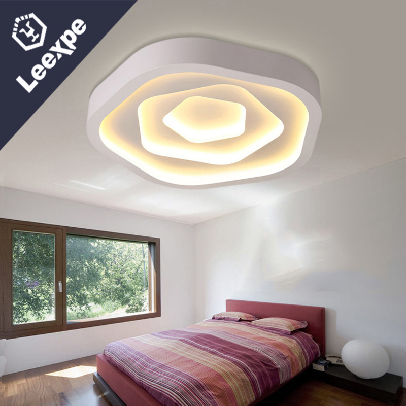 Main Living Room Lighting Ideas Tips: Bedroom Ceiling Lamp Main Bedroom Lamp Simple Modern Led
