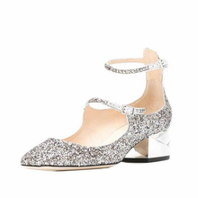 296e309ff9 Buy silver sparkle shoes and get free shipping on AliExpress.com