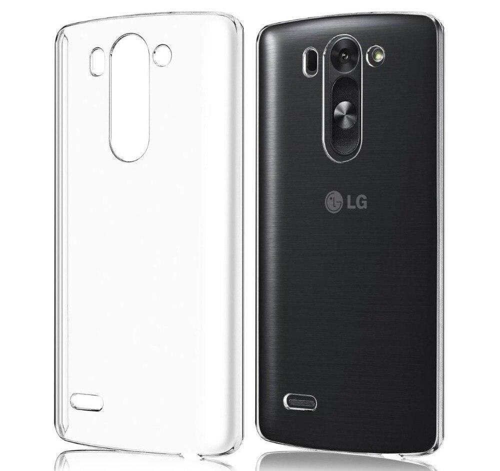 Для LG G3 случае D850 D851 тонкий крышку против царапин не исчезает Мягкий ТПУ Прозрачный чехол для LG G3 D855 VS985 чехол кожи