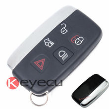 Новая Замена Смарт Дистанционного Ключа Автомобиля Брелок 433 МГц 5 Кнопка для Jaguar XF XJ XL 2013-2014