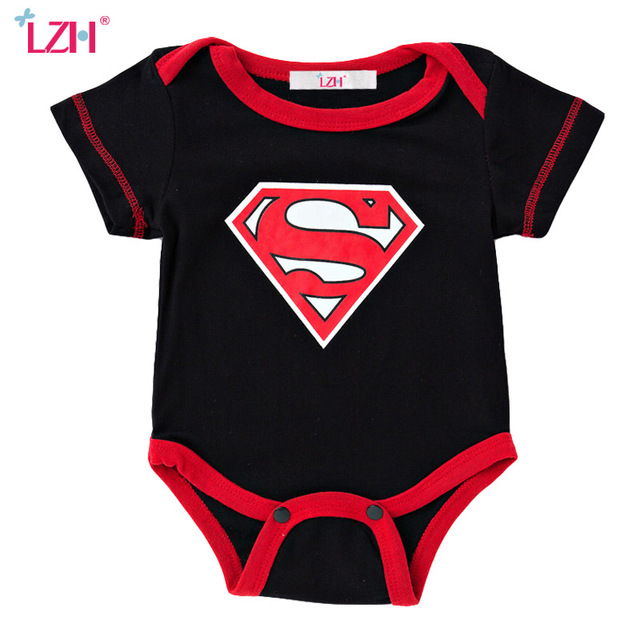 LZH Newborn Clothes 2017 Summer Baby Rompers Baby Girls Boys Romper Jumpsuit Thanksgiving Christmas Costume Infant Girl Clothing baby clothing summer infant newborn baby romper short sleeve girl boys jumpsuit new born baby clothes