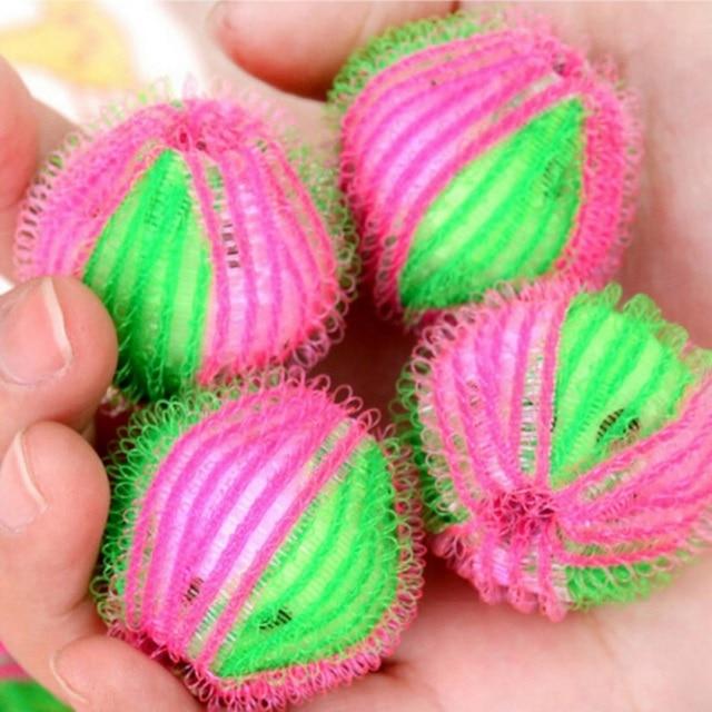 6 ピース/パックマジック脱毛洗濯ボールの服パーソナルケア毛玉洗濯機の洗浄ボール