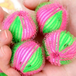 Image 1 - 6pcs/pack Magic Hair Removal Laundry Ball Clothes Personal Care Hair Ball Washing Machine Cleaning Ball