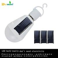 Lumiparty 15w Solar Powered Portable Led Bulb Lamp Solar Energy Lamp Led Lighting Solar Panel Light