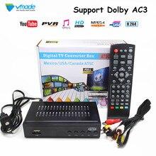 Vmadeเต็มHD DVB ATSC TerrestrialทีวีรับสัญญาณสนับสนุนMPEG 2/4 H 264 HD 1080Pชุดสำหรับเม็กซิโกสหรัฐอเมริกาแคนาดา