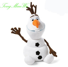 30 CM Olaf Plush Kids Toys Kawaii  Snowman Cartoon Plush Toys Doll Soft Stuffed Toys Brinquedos Juguetes Gift for Girl Baby