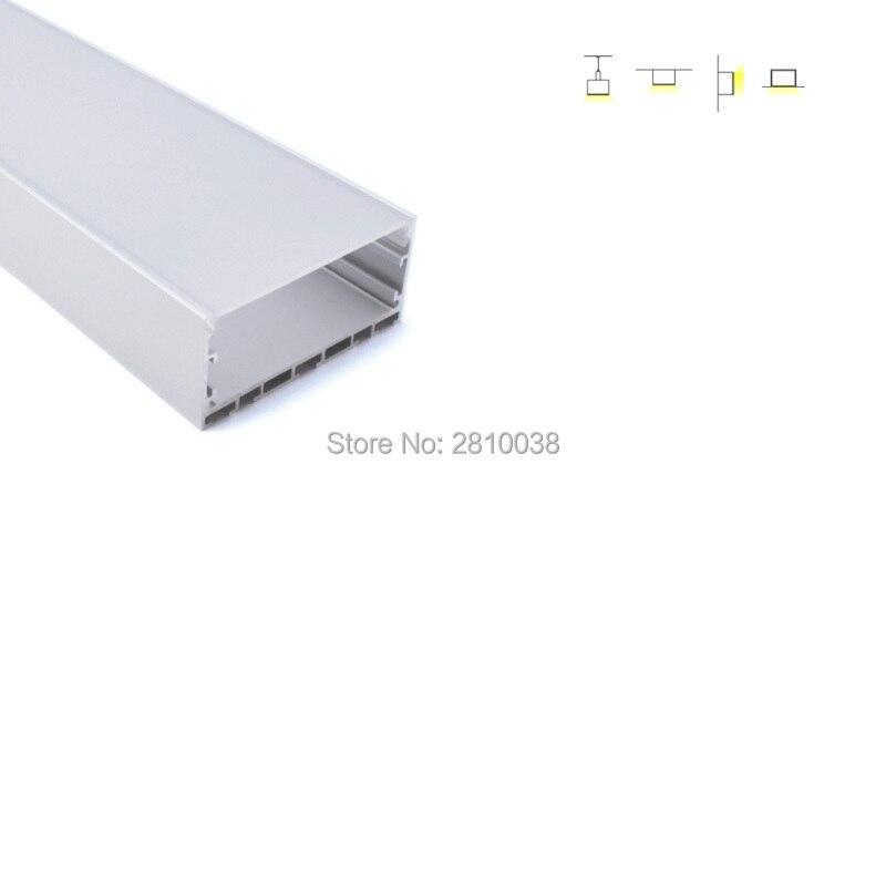 conjuntos 10x2 m lote 6000 series levou canal de montagem 75mm largura em forma de u