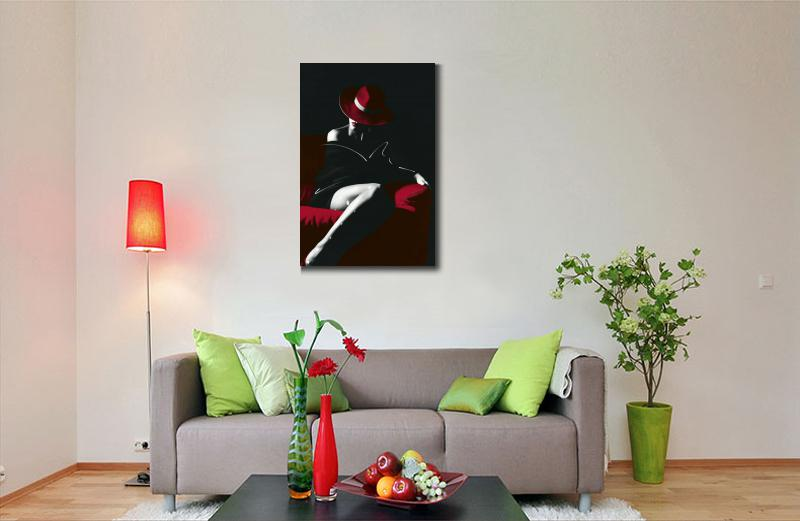 Arte contemporânea pinturas a óleo do retrato