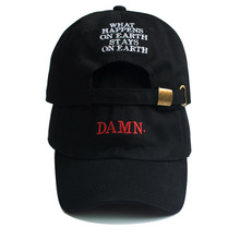 Fashion DAMN cap letter embroidery baseball caps for women m