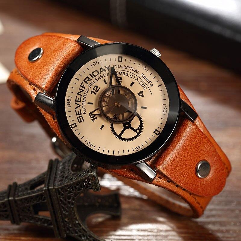 d13845ce5e38 De lujo de la marca CHENXI Plaza hombres relojes de diseño único oro rosa  Calendario para