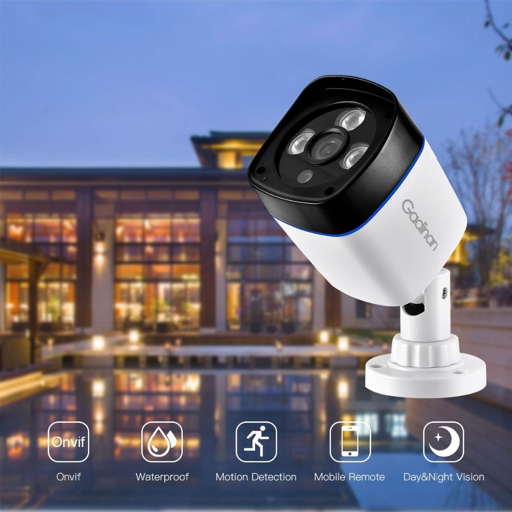 Image 2 - GADINAN 2.8mm Wide Angle IP Camera 3MP 2304*1296 1080P 960P 720P ONVIF P2P Surveillance Security DC 12V/ 48V POE CCTV Outdoor-in Surveillance Cameras from Security & Protection