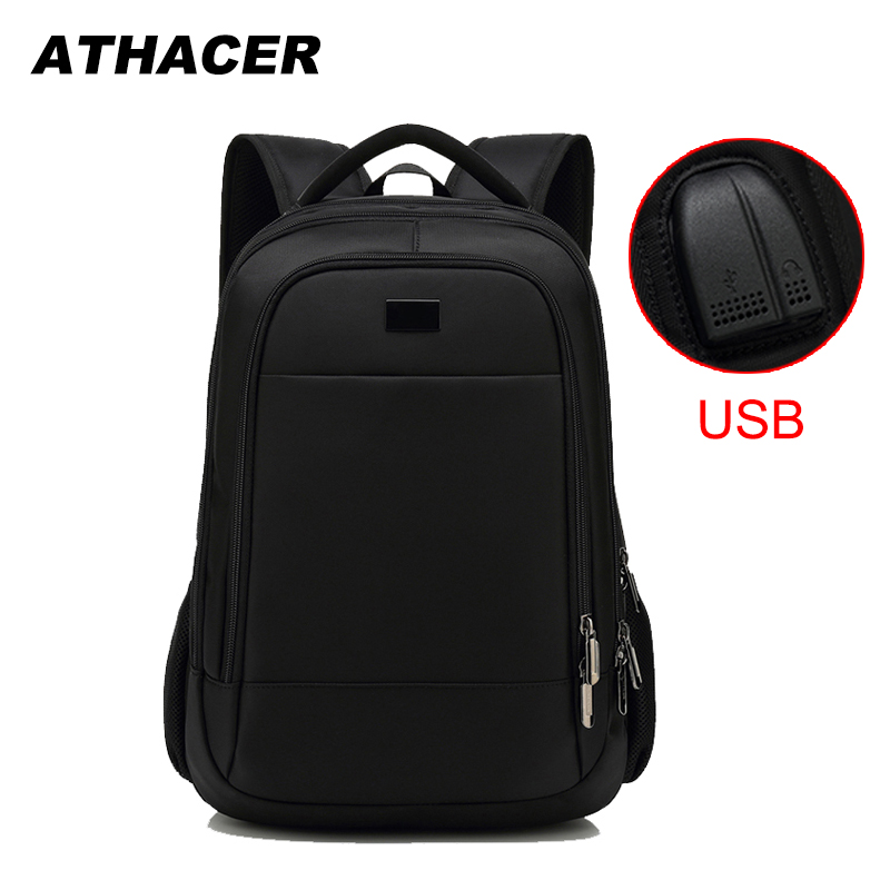 Athacer Waterproof Backpack Durable Laptop Bag Men Multifunction USB Charging Travel Business School Bags Women Casual DayPack-in Backpacks from Luggage & Bags on AliExpress - 11.11_Double 11_Singles' Day 1