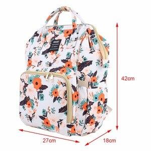 Image 2 - Yeni moda bebek bezi çantası sırt çantası büyük kapasiteli bebek çantası bezi çantası bebek bakımı annelik seyahat sırt çantası en kaliteli