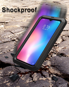 Image 4 - For Xiaomi Mi9 Explorer Case LOVE MEI Shock Dirt Proof Water Resistant Metal Armor Cover Phone Case for Xiaomi Mi 9 6.39 inch