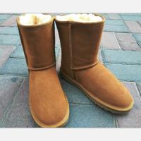 Ug Australia Boots Women Winter Warm Femme Snow Boots Female Leather Non Slip Multi Color Optional