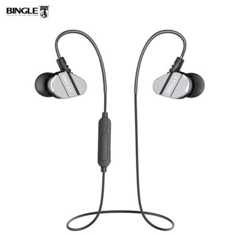Bingle FB60 Wireless Bluetooth Headset Stereo Earphone Bluetooth 4.1 Earbuds Sports Sweatproof Headphone Bass Earbud for Phone an incremental graft parsing based program development environment