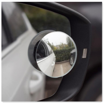 2PCS Car Round Blind Spot Mirror Accessories for alfa romeo 147 mercedes amg nissan juke 307 bmw e90 mercedes w205 peugeot 106 image