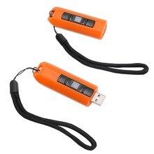 Портативный светодиодный USB Перезаряжаемый фонарь, мини-брелок, многофункциональная COB мини-лампа для наружного кемпинга, инструмент, лампа