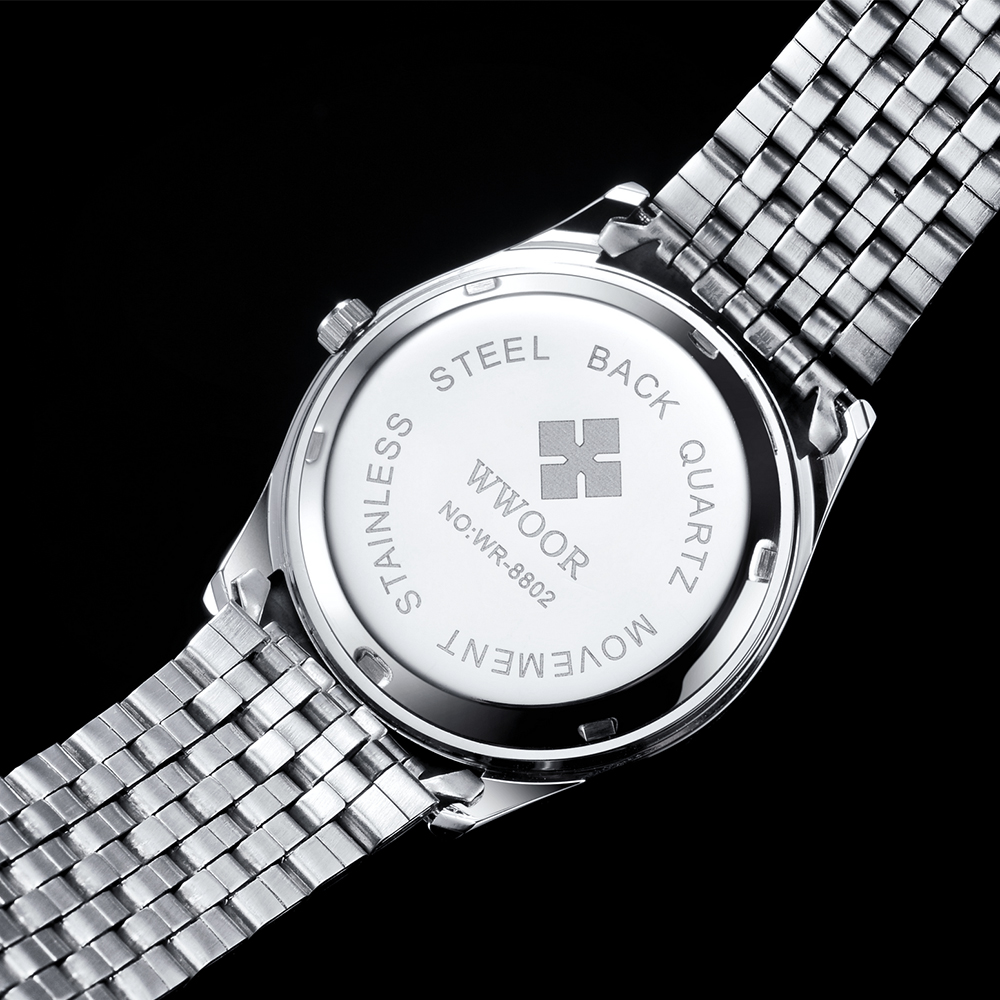 image stainless quartz from leonard watches type watch aquarecer steel
