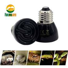 Pet-Heating-Bulb Heater-Lamp Pet-Reptile-Supplies Infrared-Bulb Turtle Ceramic Lizard