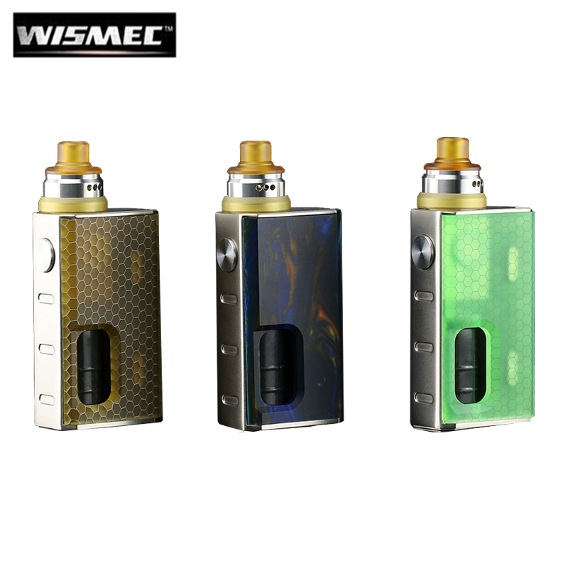 Original Wismec LUXOTIC BF Box Kit with Tobhino BF RDA 7.5ml Bottle Output 100W Vape 810 Top Cap DIY Clapton Coil Ecigarette цены
