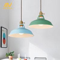 Pendant Light modern pendant ceiling lamps luminary Loft hanging lamp colorful Hanging light suspension luminaire home lighting