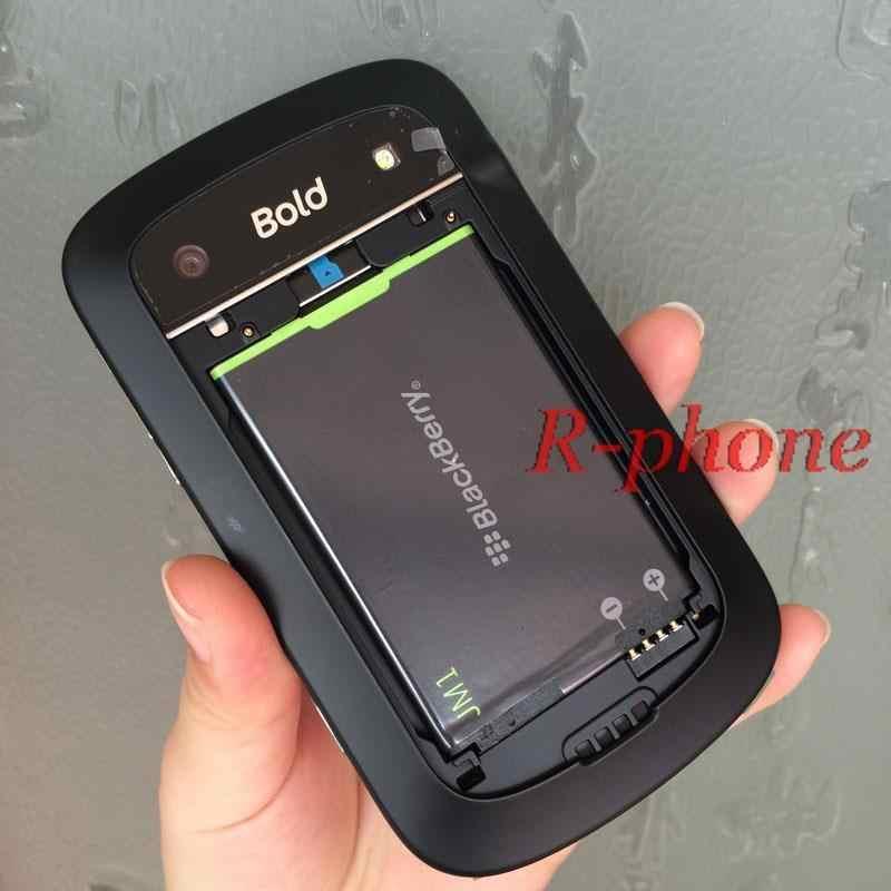 Téléphone portable d'origine BlackBerry Bold Touch 9900 débloqué BlackBerry 9900 5MP 3G WIFI Bluetooth Smartphone remis à neuf