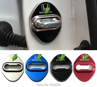 Door Lock Cover Caps Protective Car Styling 4pcs Set For Honda Accord Odyssey FitSaloon CRV HRV