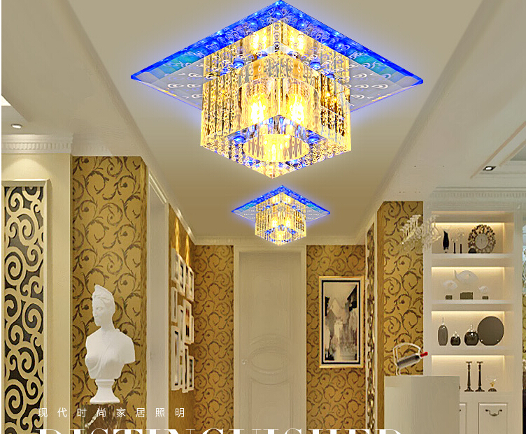 hot china lamparas de techo modern led g4 bulbs crystal ceiling lights
