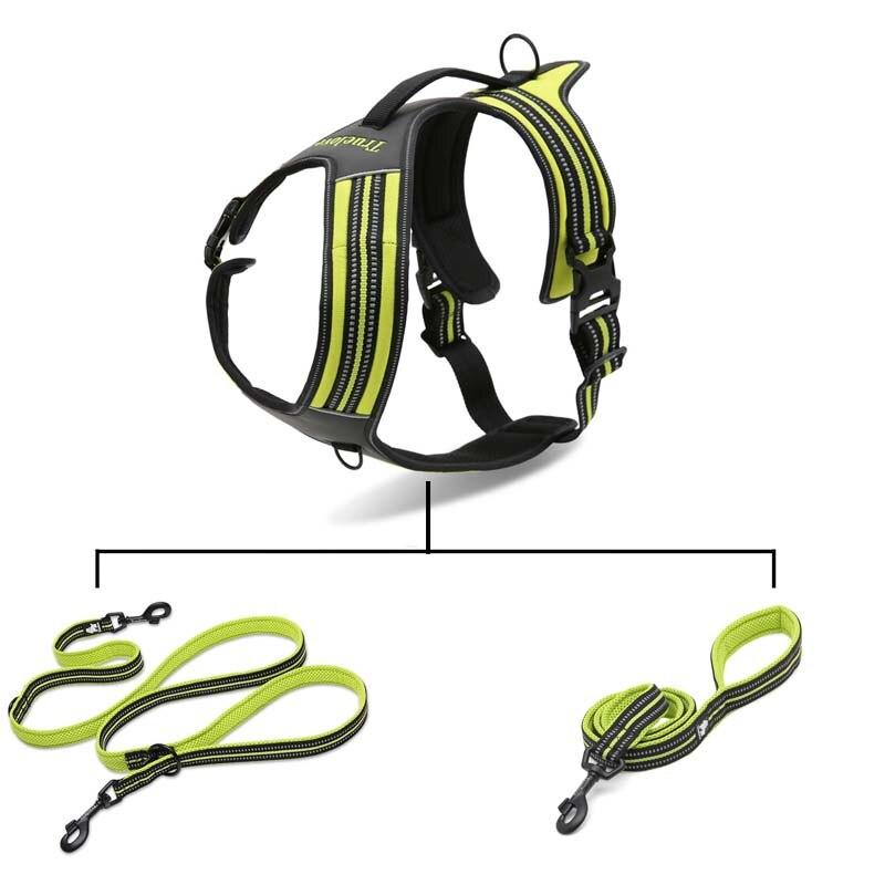 MySudui Truelove No Pull Dog Harness Dog Pet Harness Vest Large Small Harness Vest Adjustable Safety Walking Harness For Dog (11)