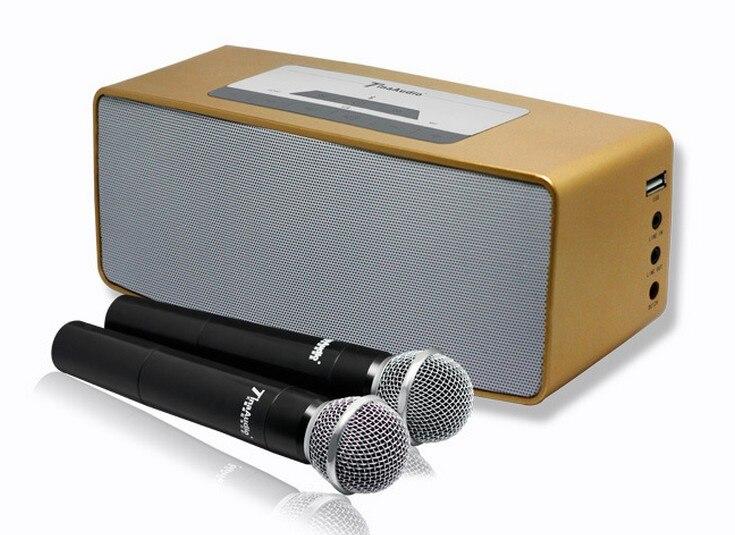 portable karaoke font b player b font speaker in 20W power cover 300sm 3d surround subwoofer