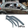 4PC FIT FOR SUZUKI SX4 HATCHBACK CROSSOVER 2007-2013 CAR SIDE WINDOW VISOR RAIN DEFLECTORS GUARD WEATHER SHIELDS DOOR SHADE 2012