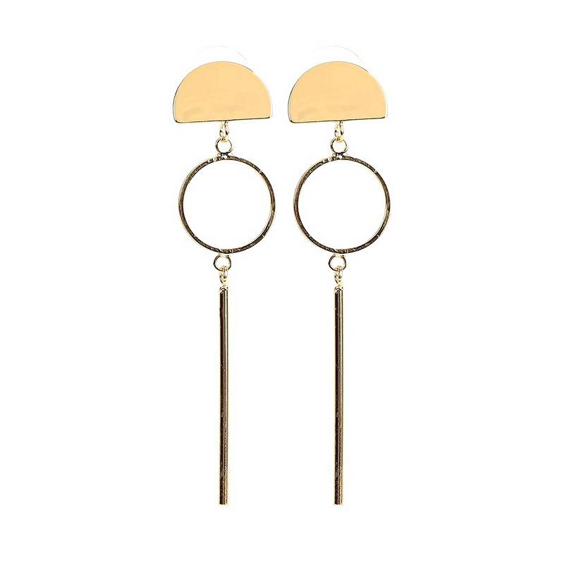 Stud Earrings MODIS M182A00068 for female for woman TmallFS pair of simple faux pearl stud earrings for women