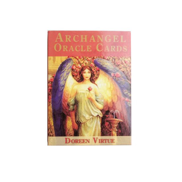 2019 New Archangel Oracle Cards Tarot Deck cards read the mythic fate divination for fortune games 45-Cards/set