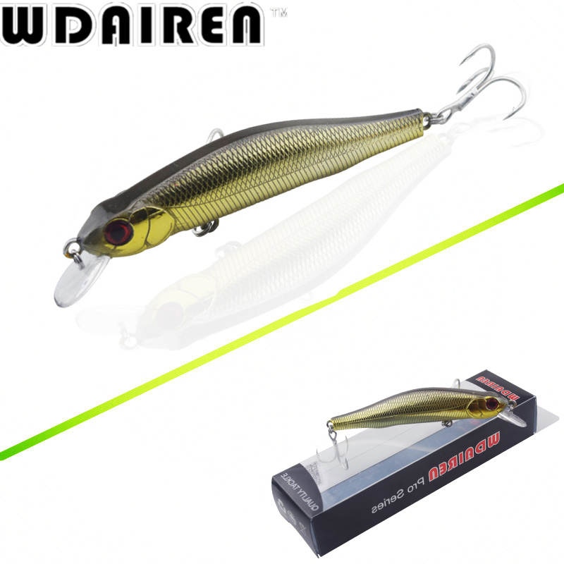 1Pcs 9cm 8.5g Minnow Fishing Lure Wobblers Crankbait artificiais para pesca Japan Hard Bait Swimbait fishing tackle WD-483 wldslure 1pc 54g minnow sea fishing crankbait bass hard bait tuna lures wobbler trolling lure treble hook
