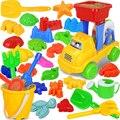 30 unids/lote nueva playa de verano para niños de bebé Clásicos juguetes de Natación baño de juguete Cavar Herramienta de Juego de Arena juguetes Educativos juguetes de Playa 2015