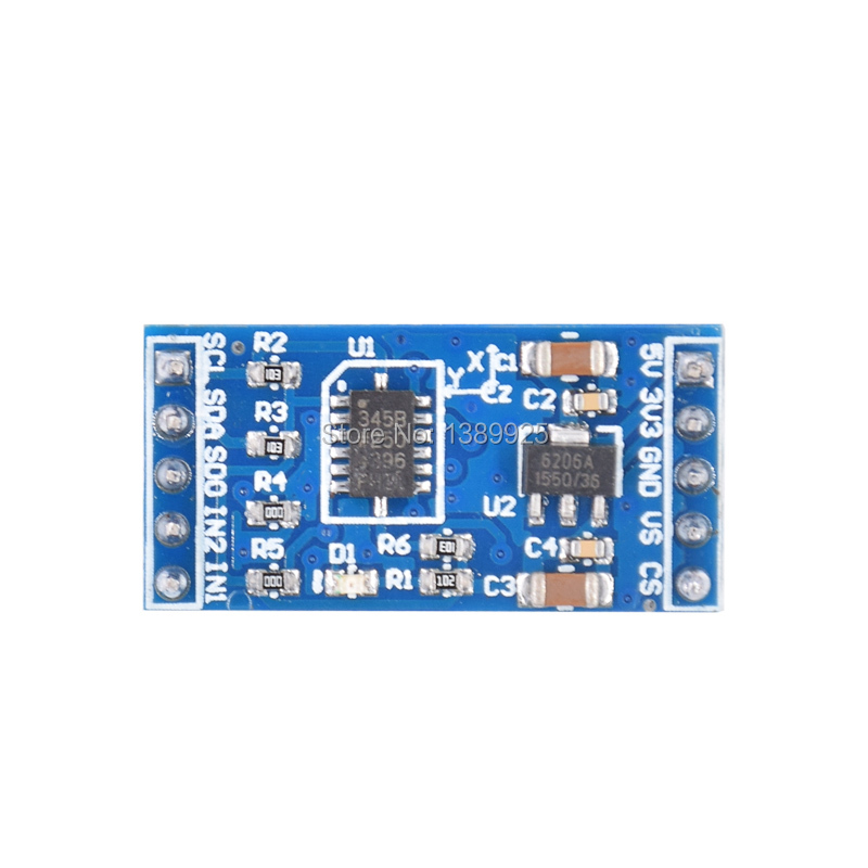 ADXL345 3-axis Digital Gravity Sensor Acceleration Module Tilt Sensor For Arduino
