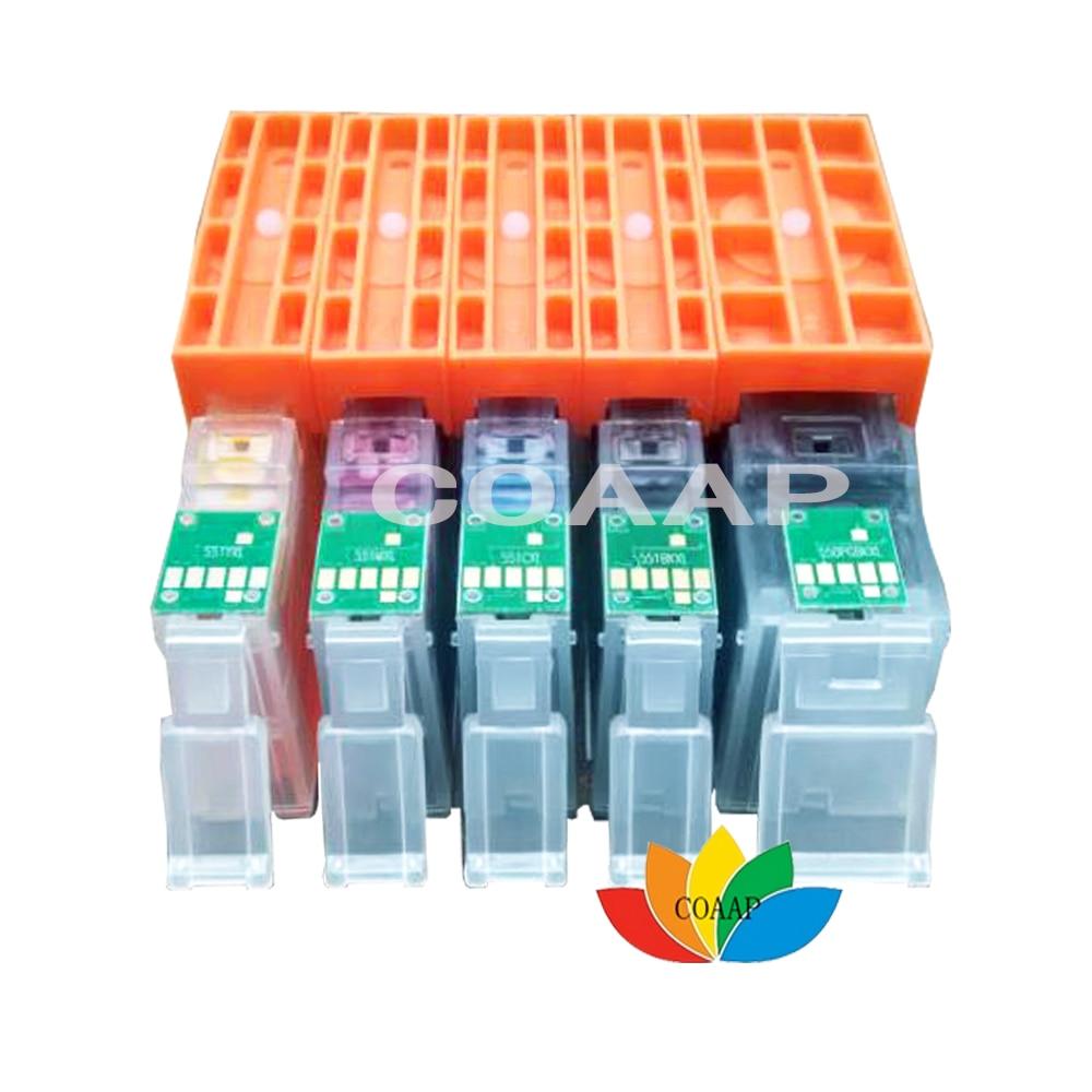 1 комплект совместимый чернильный картридж CANON 550 551 для PIXMA IP7250 MG5450 MG5550 MG5650 MG6350 MG7550 MX725 MX920 MX925 принтер